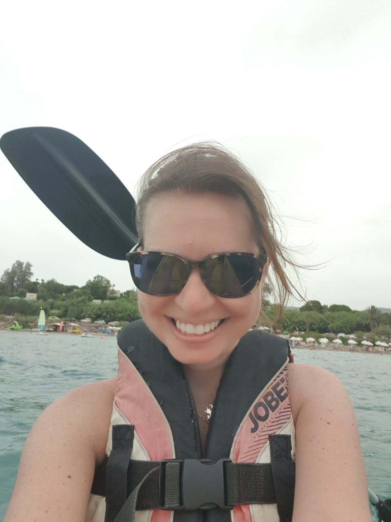 Paphos-coral-bay-beach-kanoe