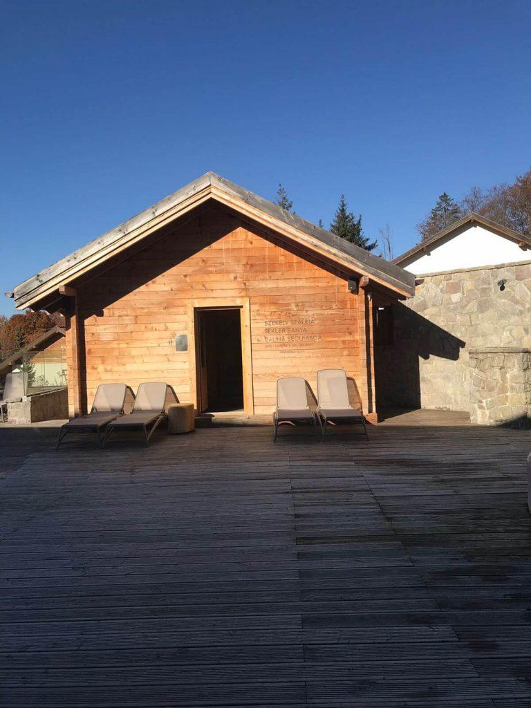 Balvanyos spa sauna exterioara