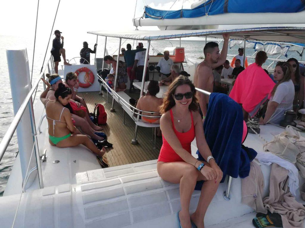 Insula-Saona-catamaran