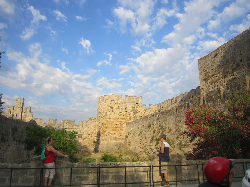 Rhodos-old-town-castle