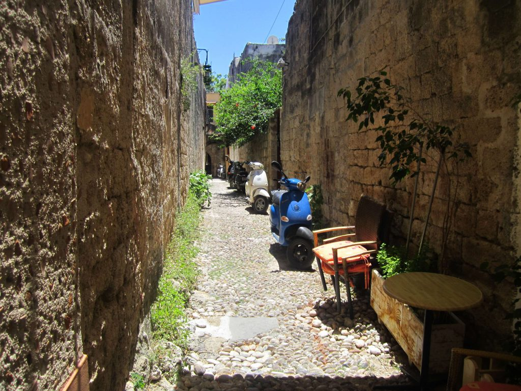 Rhodos-old-town