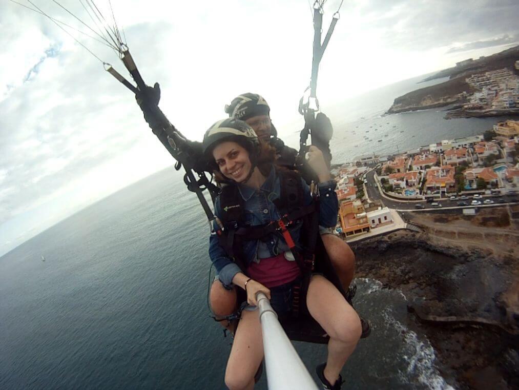 Tenerife-parapanta-aterizare