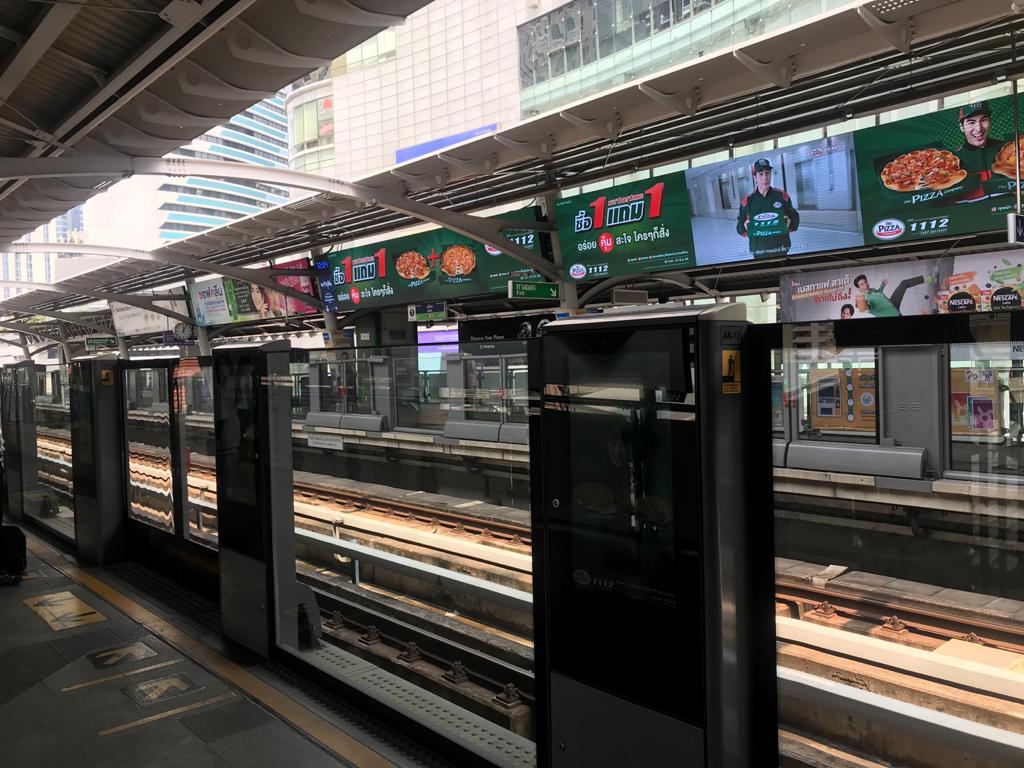 Bangkok-skytrain-station
