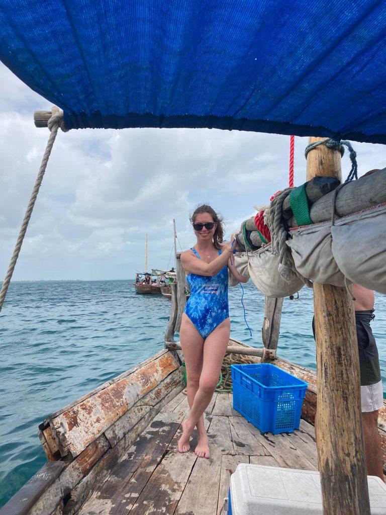 safari blue zanzibar boat