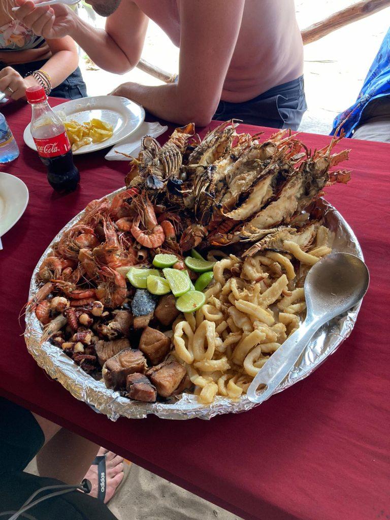 safari blue zanzibar seafood