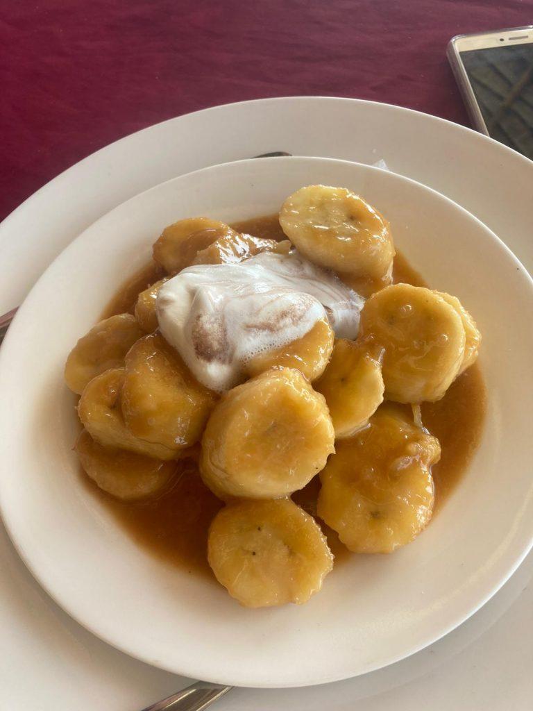 dessert banana zanzibar