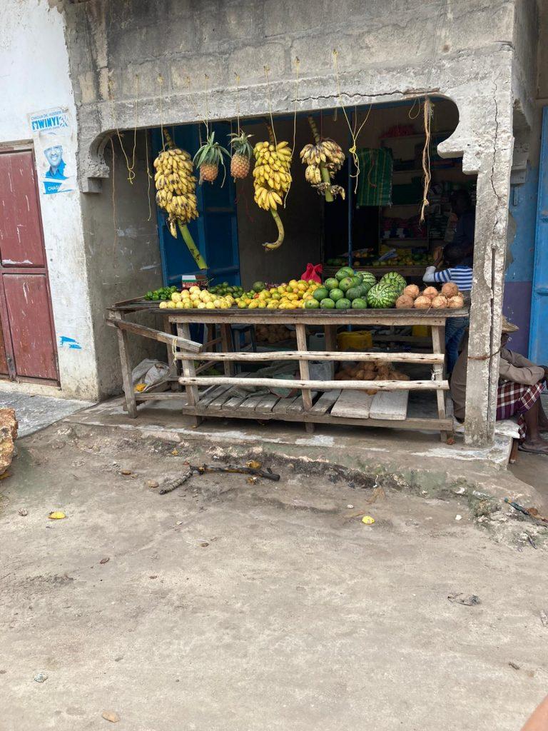 zanzibar fruit shop
