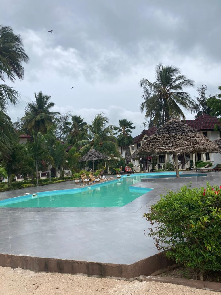 nungwi resort on the beach